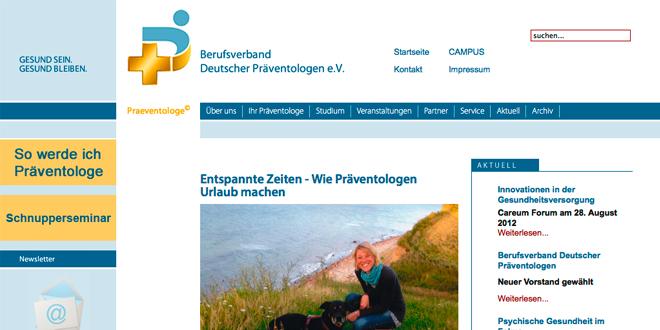 Berufsverband Deutscher Präventologinnen und Präventologen
