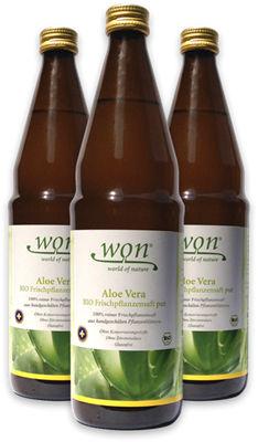 won bio aloe vera frischpflanzensaft